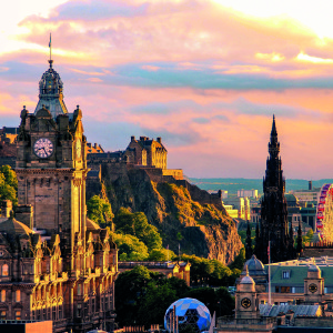 Edinburgh skyline, Scotland